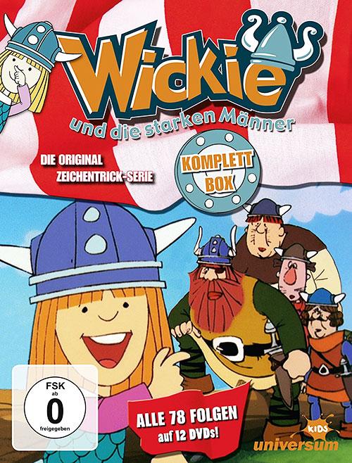 دانلود کارتون سریالی ویکی وایکینگ Vicky the Viking TV Series